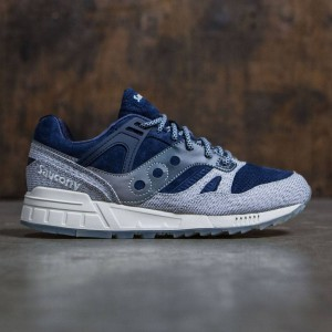 Saucony Men Grid SD - Dirty Snow (blue / gray)