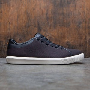 Native Men Monaco Low Canvas (black / white)