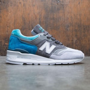 New Balance Men 997 Color Spectrum M997CA - Made In USA (gray / castlerock / lake blue)