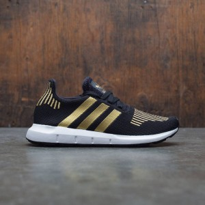 Adidas Women Swift Run W (black / gold metallic / footwear white)
