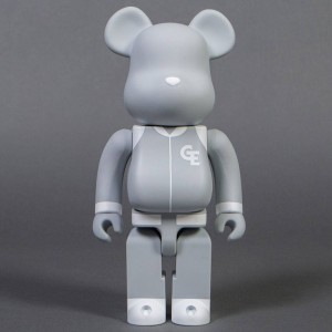Medicom Goodenough Classic Gray 400% Bearbrick Figure (gray)