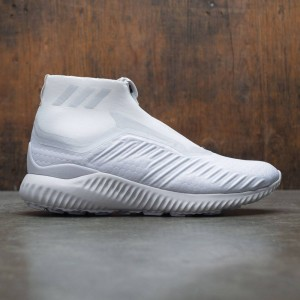 Adidas x Kith Men AlphaBOUNCE Zip (white / crystal white / core black)