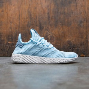 Adidas x Pharrell Williams Big Kids Tennis HU J (blue / icey blue / footwear white)