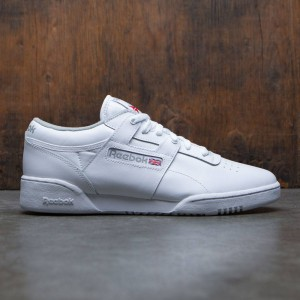Reebok Men Workout Low (white / grey)
