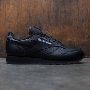 Reebok Men Classic Leather (black)