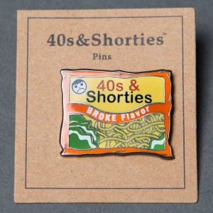 40s and Shorties Ramen Pin (multi)