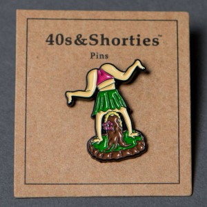 40s and Shorties Hula Twerk Pin (multi)