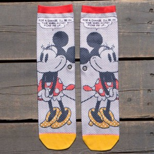 Stance Women Tick Tock Minnie Socks (white / off white)