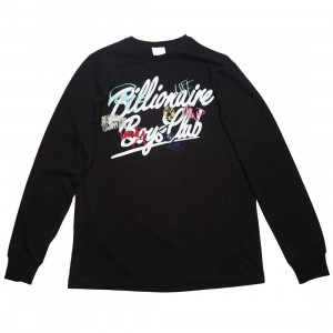 Billionaire Boys Club Men United LS Tee (black)