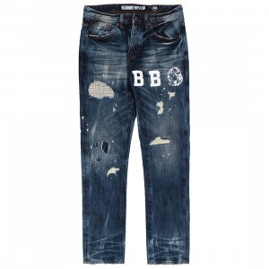 Billionaire Boys Club Men Trek Jeans (blue / cassio)