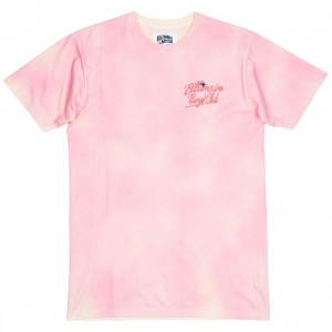 Billionaire Boys Club Men Cosmic Knit Tee (pink / white angora)