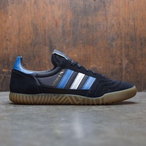 Adidas Men Indoor Super (black / trace royal / matte silver)