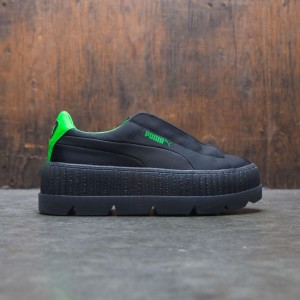 Puma x Fenty By Rihanna Women Surf Creeper (black / green gecko)