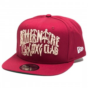 Billionaire Boys Club Lifeform Snapback Cap (red / cardinale)