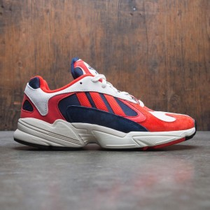 Adidas Men Yung-1 (white / core black / collegiate navy)