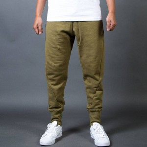 BAIT Men French Terry Jogger Pants - Made In LA (olive)