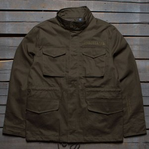 Undefeated Men Undefeated Field Jacket (olive)