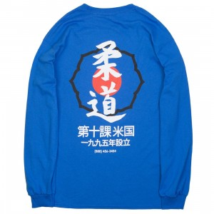 10 Deep Men Dojo Long Sleeve Tee (blue)