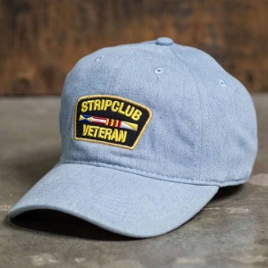 Reason x 2Chainz Strip Club Veteran Dad Cap (blue / denim)