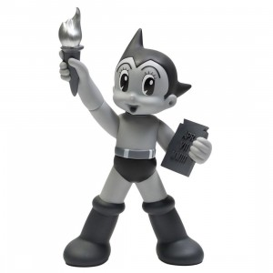 ToyQube x Tezuka Productions Astro Boy Statue Of Liberty - Mono 10 Inch Vinyl figure (gray)