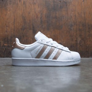 Adidas Women Superstar W (white / cyber metallic gold / footwear white)