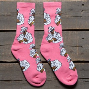 40s and Shorties Sweet Jones Socks (pink) 1S