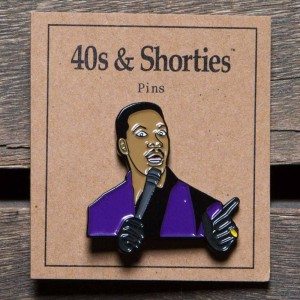40s and Shorties Raw Pin (purple)