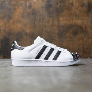 Adidas Women Superstar Metal Toe (white / core black / silver metallic)