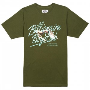 Billionaire Boys Club Men Celestial Mixes Tee (green / chive)