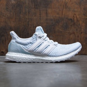 Adidas Men UltraBOOST Parley (white / footwear white / icey blue)