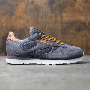 Reebok Men CL Leather OL (gray / ash / steel)