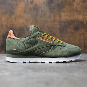 Reebok Men CL Leather OL (green / olive / steel)