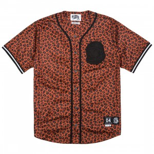 Billionaire Boys Club Men JR Jersey (brown / cheetah / cinnamon)