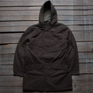 Stussy Men Military Parka Jacket (olive)