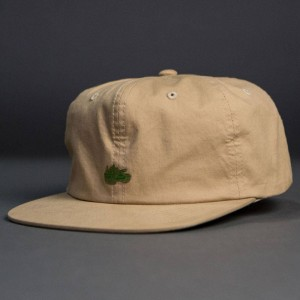Undefeated Tank Strapback Cap (tan)