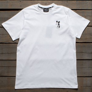 Lazy Oaf x Disney Men Waiting In Line Tee (white)