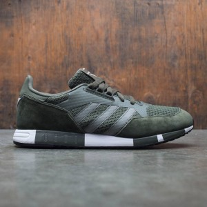 Adidas Men White Mountaineering Boston Super Primeknit (green / night cargo / footwear white)