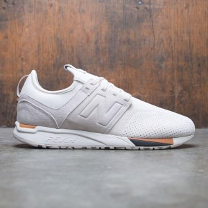 New Balance Men 247 Luxe MRL247WS (gray / moonbeam / tan)