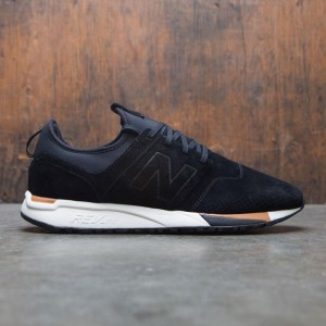 New Balance Men 247 Luxe MRL247WU (black / white / tan)