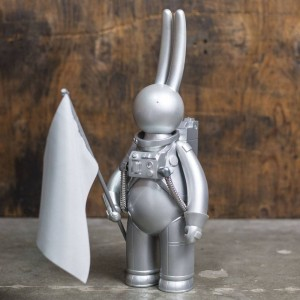 Mr Clement Astrolapin - Full Circle 16 Inch Vinyl Figure (silver / imitation steel)