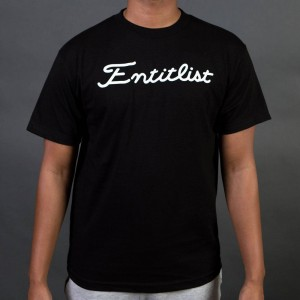 Staple Men Entitlist Tee (black)