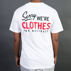 Staple Men Sorry Clothes Tee (white)