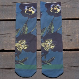 Stance Women Black Iris Socks (navy) 1S