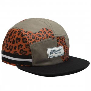 Billionaire Boys Club Worlds Cap (green / cheetah)