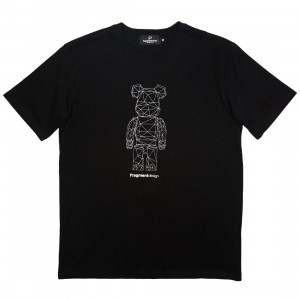 Medicom x Fragment Design Men Be@rtee Polygon Tee (black)