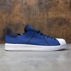 Adidas Men Superstar Bounce Primeknit (black / blue / footwear white)
