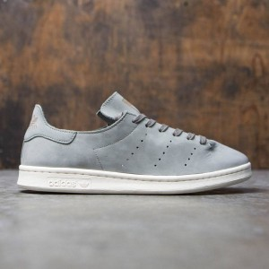 Adidas Men Stan Smith Lea Sock (gray / trace cargo / off white)