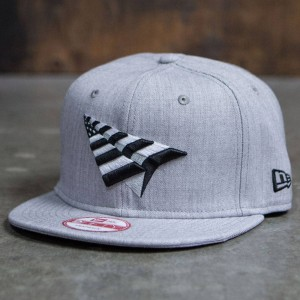 Paper Planes 9 Fifty The Crown Grey Boy Snapback (gray / heather)