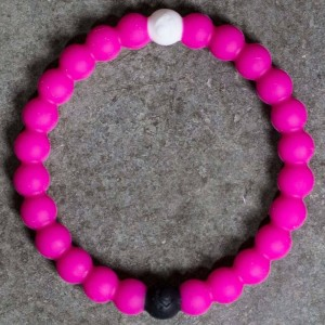 Lokai Bracelet - Breast Cancer 2016 (pink)