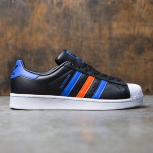 Adidas Men Superstar (black / blue / footwear white)